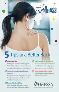 MESSA back pain poster PDF