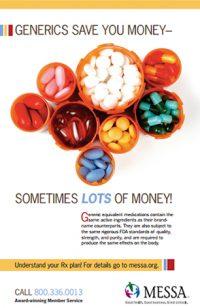 Free generic drugs poster PDF