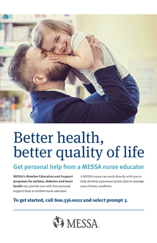 MESSA member education and support poster PDF