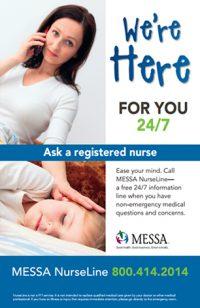 NurseLine poster PDF