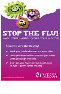 Stop the flu poster PDF