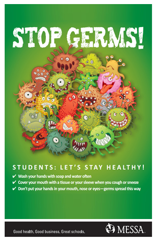 Stop germs posters PDF